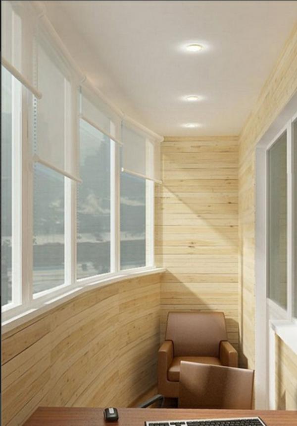 designer balkon projekte idee holz minimalistisch