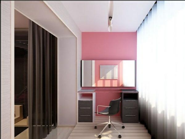 designer balkon projekte idee holz städtisch modern