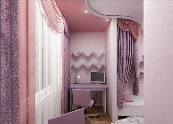 designer terrasse projekt idee lila rosa