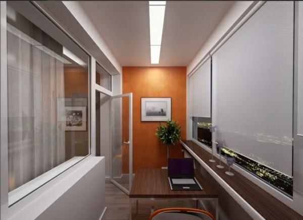 designer terrasse projekt idee wand regale bild