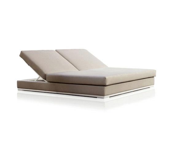 designer balkonmöbel expormim liege bett sofa