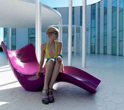 21 Designer, trendige Relax Liegen im Garten - Eleganz und Luxus