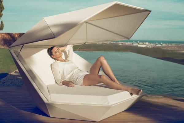 designer trendige relax liegen ideen holz trendig weiß liege