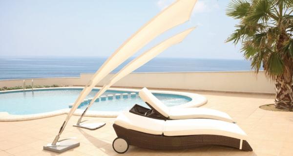 designer trendige relax liegen ideen liegen hochmodern sonnenschirm