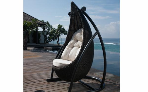 designer trendige relax liegen im garten ideen meer schwarz liege hängend