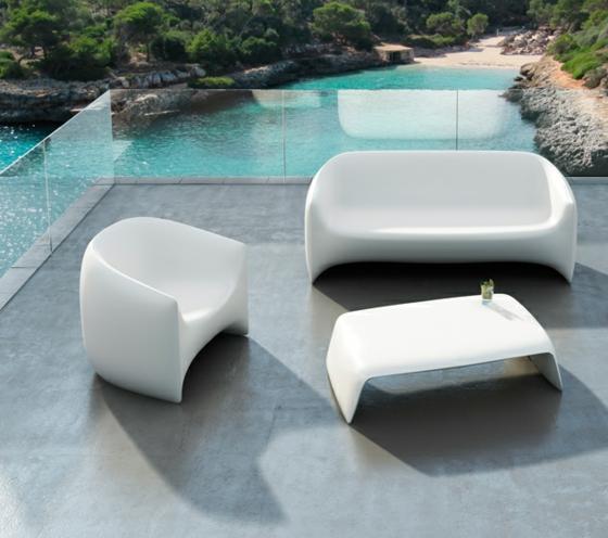 designer möbel balkon vondom set garten tisch sessel sofa