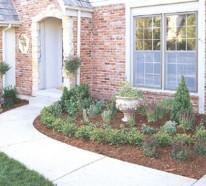 Einfacher, einladender Vorgarten – Gartengestaltung