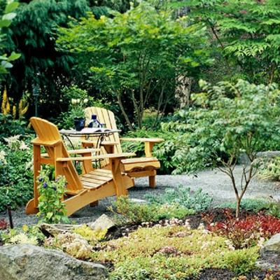 engen Raum im Garten freien ideen holz stühle lackiert