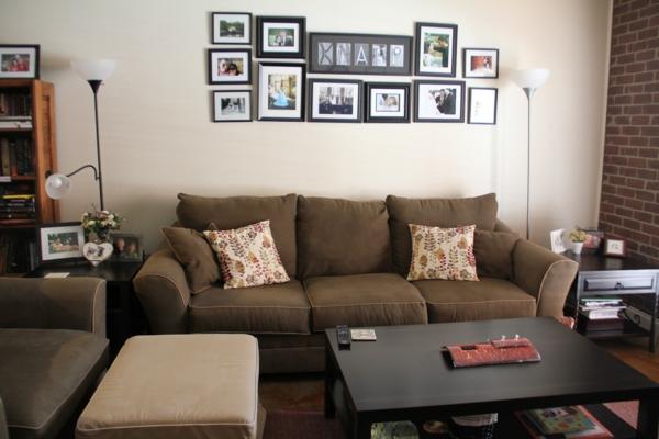 Design Wohnzimmer Braun Ideen Inspirierende Bilder Von