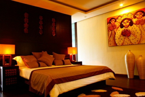 feng shui einrichtung schlafzimmer religiöse symbole buddha