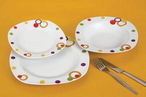 Feng Shui Farben Küche Geschirr Teller Farbakzente Gelb