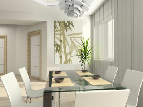 feng shui interior design inspirierende wanddeko. Black Bedroom Furniture Sets. Home Design Ideas