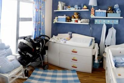 Feng Shui Kinderzimmer - ein Beispiel für ruhige Nächte
