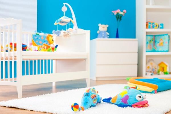 Kinderzimmer Blau Wei Streichen Kinderzimmer Grn Blau Streichen