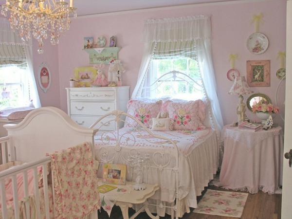 feng shui kinderzimmer weiß frisch königreich rosa mädchen