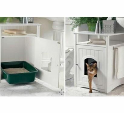 feng shui ratschlag finden sie den besten platz f rs katzenklo. Black Bedroom Furniture Sets. Home Design Ideas