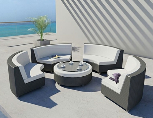 freistehendes bett designer lösung außenmöbel sessel tisch konstruktion