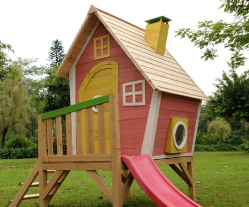 Gartengestaltung Kinder kinderspielplatz im hinterhof praktisch und traumhaft