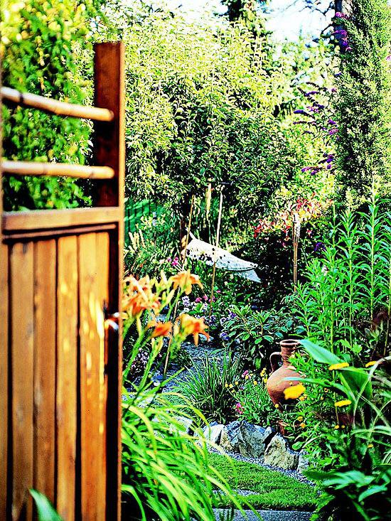 garten klein akzente deko rechlich pflanzen