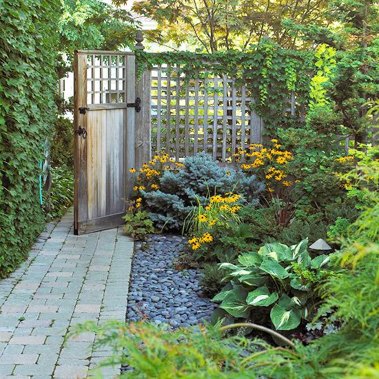 Garten zaun praktische und sthetische anwendung for Dekoelemente garten