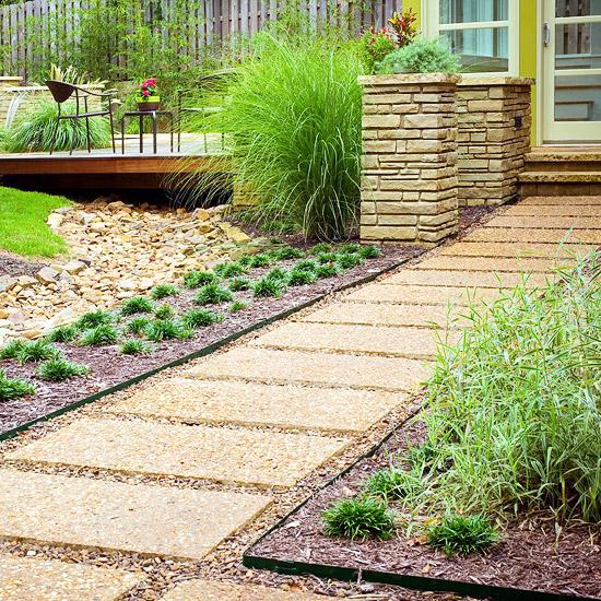 Gartenpfade und gartengänge ideen für landschaftsgestaltung