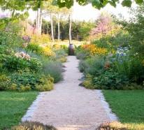 Gartenpfade und Gartengänge – Ideen für Landschaftsgestaltung