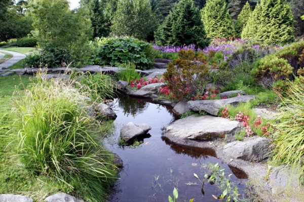 Sch nen gartenteich anlegen gestalten sie einen wassergarten for Gartenteich gestaltungsideen