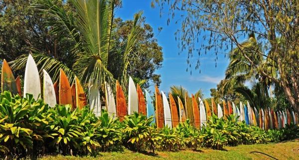 palm trees wallpaper border