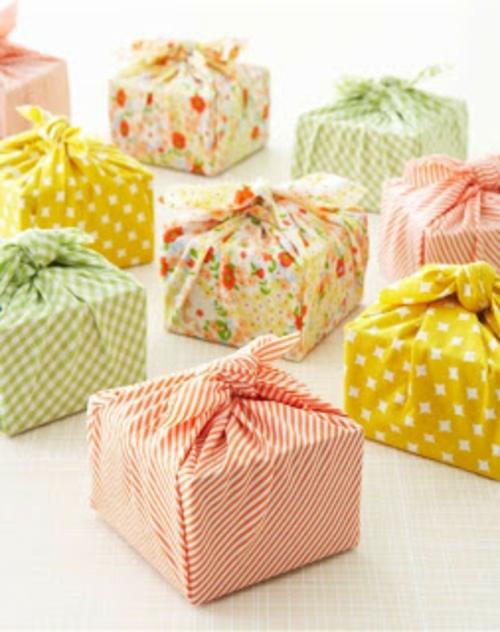 geschenke zum muttertag zart packen stricken