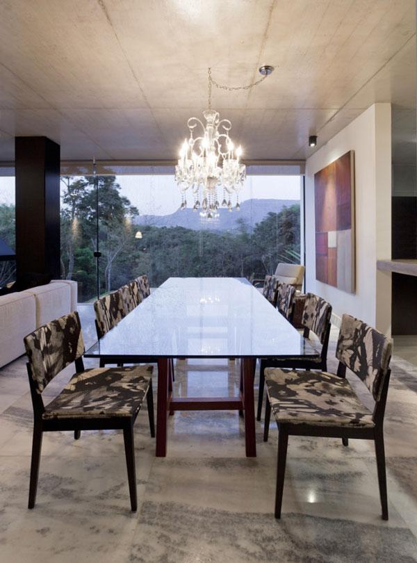 helles jugendliches haus brasilien design esszimmer
