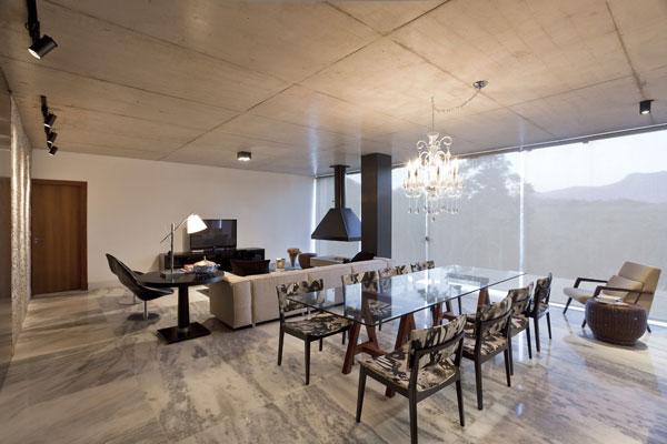 helles jugendliches haus brasilien design minimalistisch