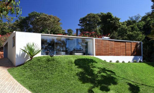 helles jugendliches haus brasilien design natur außendesign