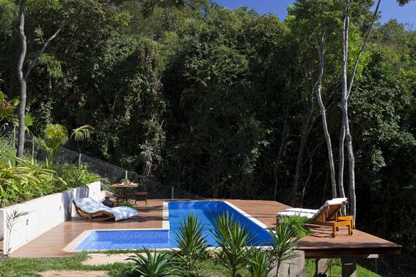 helles jugendliches haus brasilien design natur umgebung