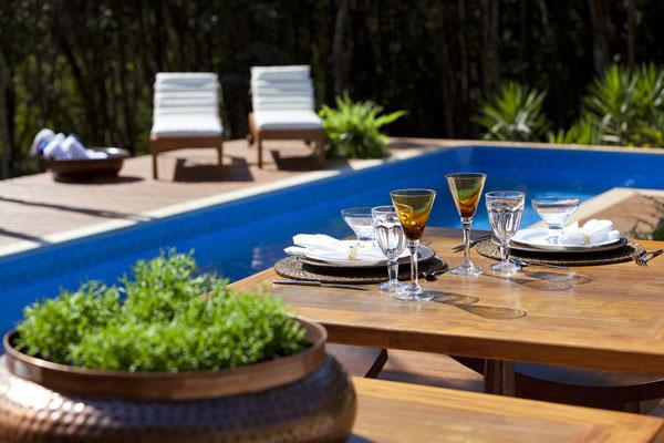 helles jugendliches haus brasilien design patio