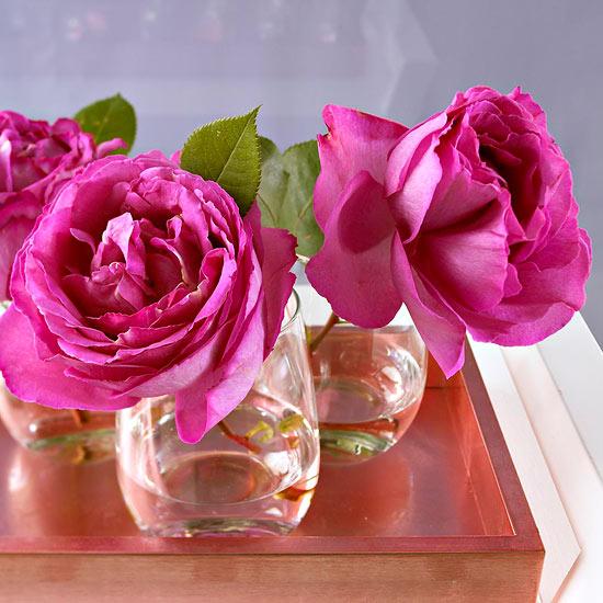 leichte blumen deko ideen zum muttertag selber machen rose