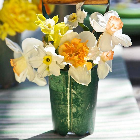 leichte blumen deko ideen zum muttertag vase