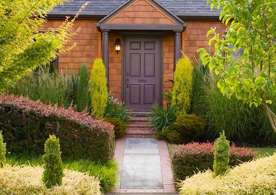 Garten und landschaftsbau gartengestaltung und - Garten leichte hanglage ...