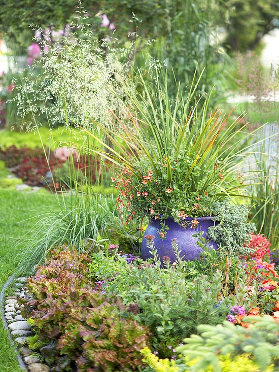 leichte landschaft ideen regeln befolgen pflanzen behälter