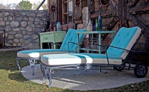 lounge liegestühle vintage stil