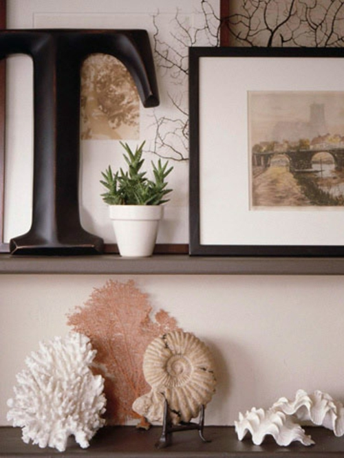 Muschelschalen Dekoration - Verschönern Sie Ihr Zuhause