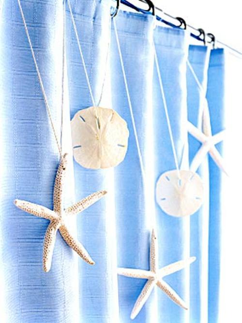 muschelschalen dekoration frisch sommerlich dusche