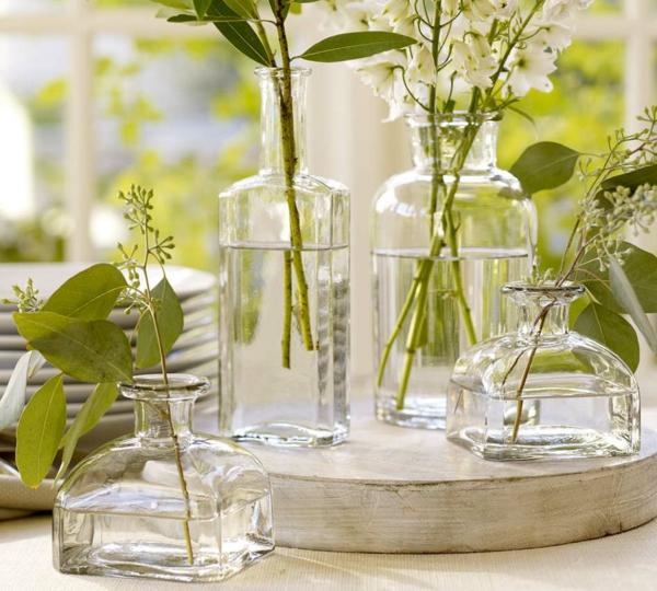 muttertag deko ideen grün pflanzen