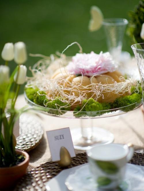 Tisch Deko Ideen zum Muttertag festlich überraschung