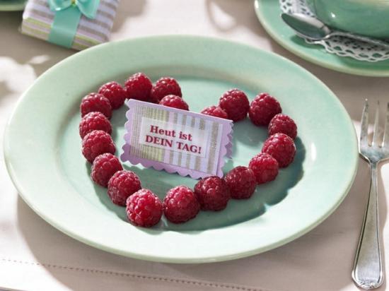 muttertag geschenk ideen geschenk foto liebevoll frühstück