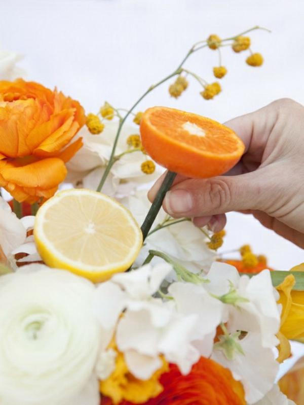 muttertag ideen selbermachen kreativität persönlich geschenk orangen