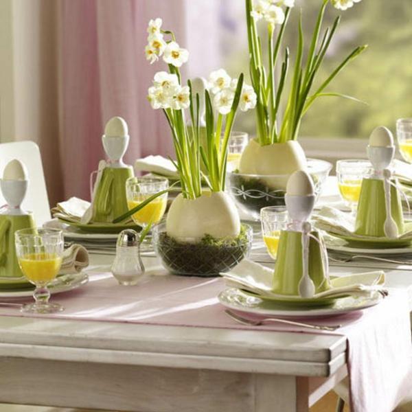 Tischdecke karriert rot weiß muster ländlicher Stil Blumenstrauß