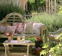 Outdoor Lounge Area mit einem knappen Budget gestalten