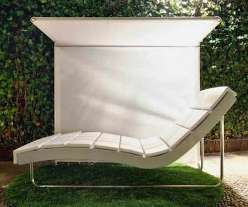 Outentico Liege Weiß Sonne Freien Garten Möbel Rattan Gartenmöbel Ideen