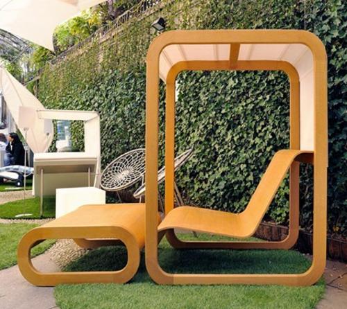 rattan gartenmöbel ideen - gestalten sie ihren balkon und garten, Garten ideen gestaltung