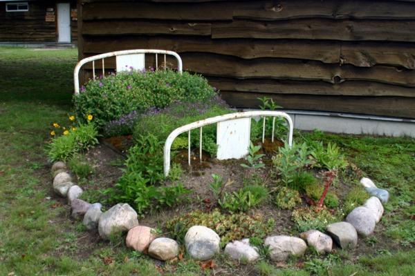 coole pflanzen und gartenkunst   ideen blumenbeet